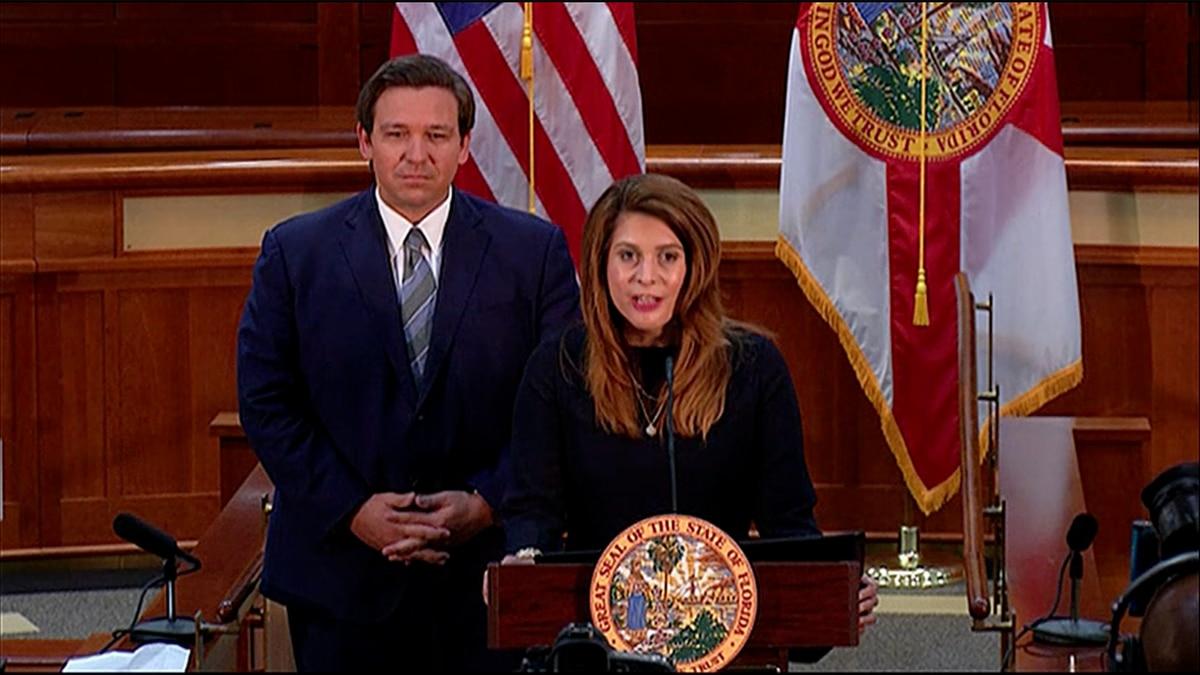 Gov. Ron DeSantis appoints Jamie Rutland Grosshans as a justice to the Florida Supreme Court.
