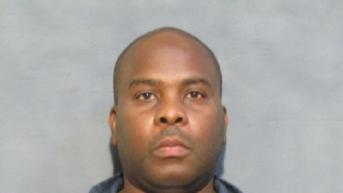 Booking photo from Houston County Jail.