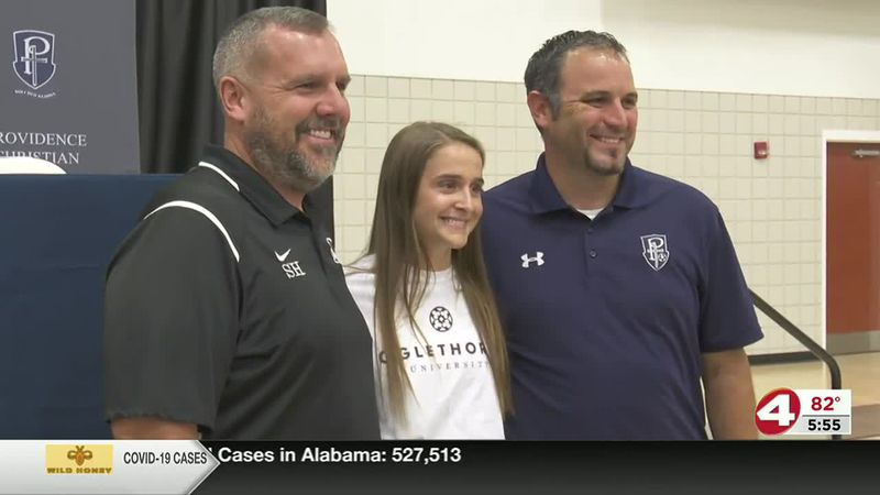 On the dotted line: Providence Christian's Caputo signs with Oglethorpe University