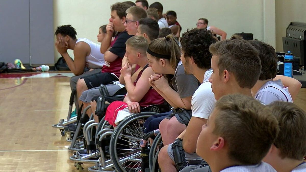The University of Alabama has produced three national champions recently when it comes to wheelchair basketball. That one reason is why this may be the largest wheelchair basketball camp in school history. (Source: WBRC)