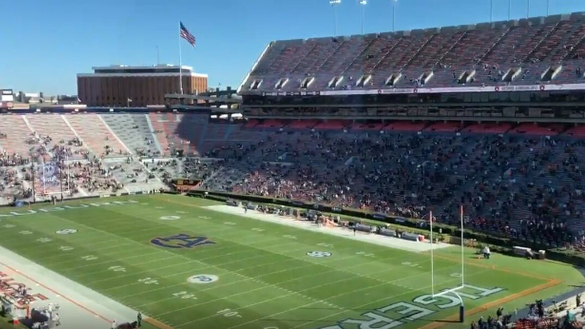 Auburn A-Day game will be at 40% capacity Saturday