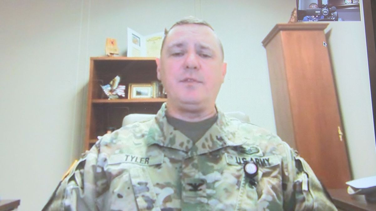 Col. Thomas Tyler, director of military support for the Alabama National Guard
