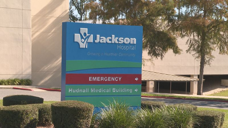 Jackson Hospital converts third floor to COVID unit once again.