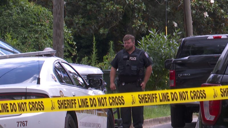Suspected human remains found near Blakely home