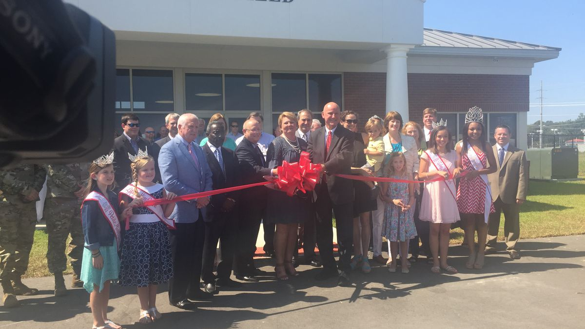 Ribbon Cutting for New Airport Terminal in Ozark.