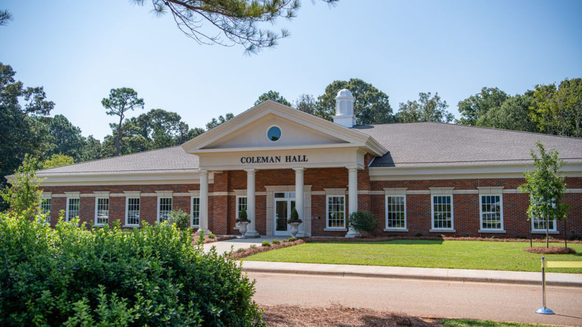 Coleman Hall on the Dothan Campus, home of the Coleman Center for Early Learning and Family Enrichment. (Source: TROY University)