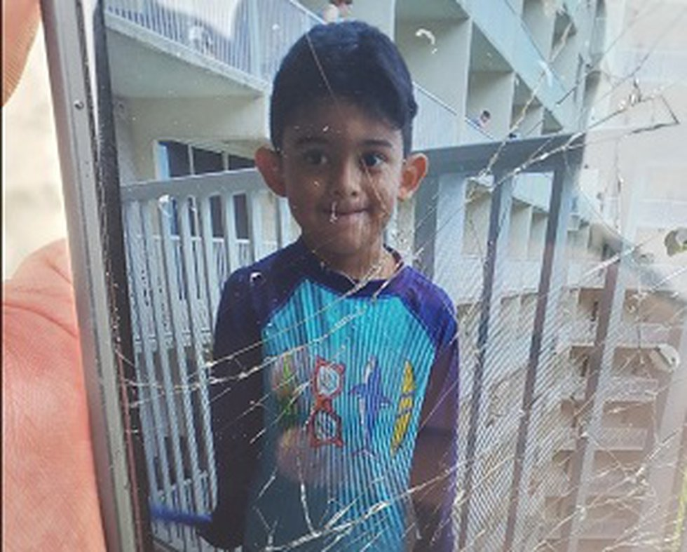 Panama City Beach Police are looking for a missing 6-year-old last seen on the beach behind the...