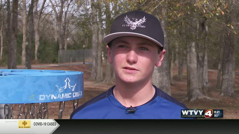 Wiregrass disc golfer rising to the top