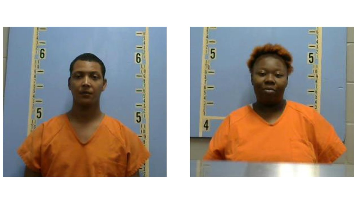 Antwain Griffin and Taneisha Wheeler are behind bars in the Geneva County Jail with no bond.