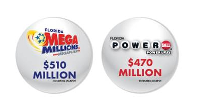 The MEGA MILLIONS and POWERBALL lottery jackpots have reached a combined $980 Million.
