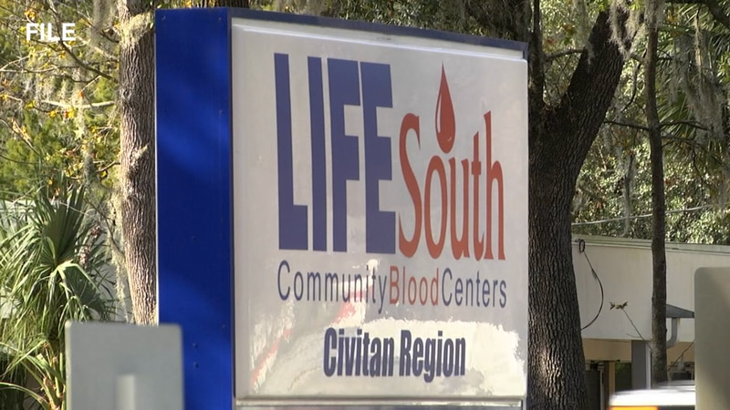 LifeSouth seeks blood donations from Florida residents to help deal with predicted blood...
