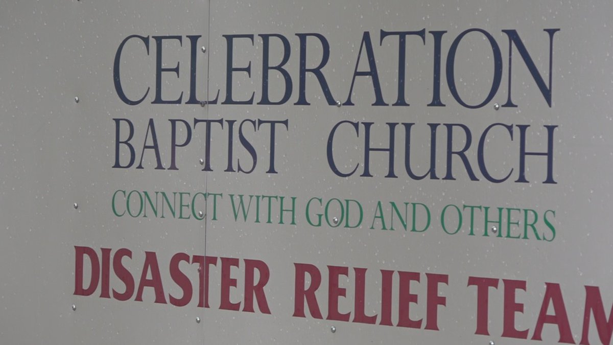 The Celebration Baptist Church relief team can be activated in an instant and help folks both...