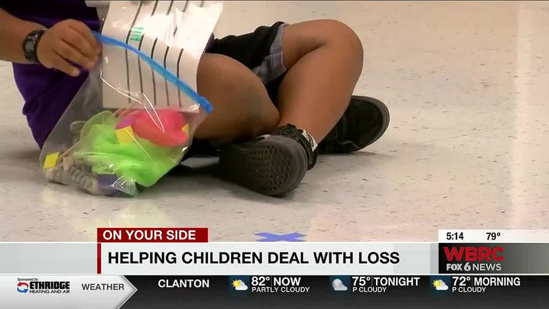 Helping children deal with loss