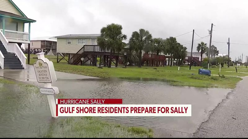 WTVY's Abby Nelson on the latest from Gulf Shores ahead of Hurricane Sally Tuesday.