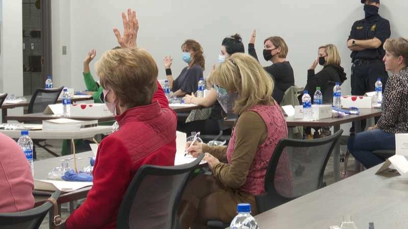 The Wiregrass Public Safety Center teaches women of all ages CPR, self defense, fire arm safety...
