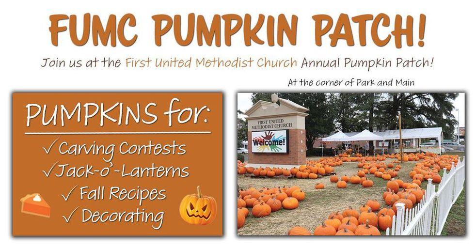 FUMC pumpkin patch
