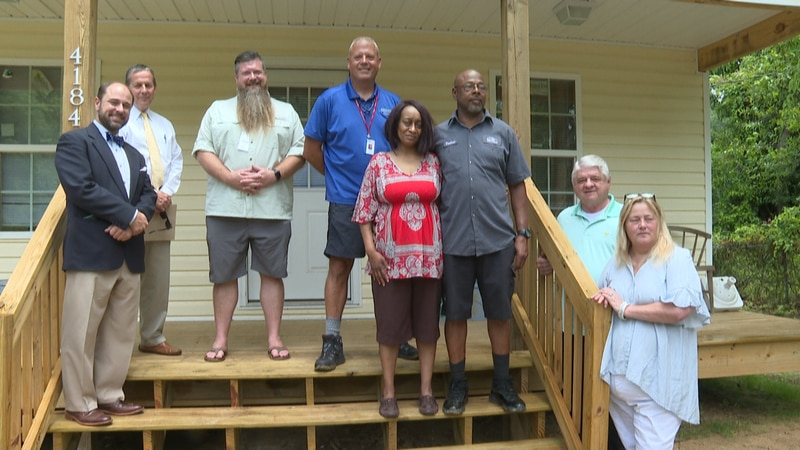 Over the past two years, community members in Marianna worked together to build a forever home...