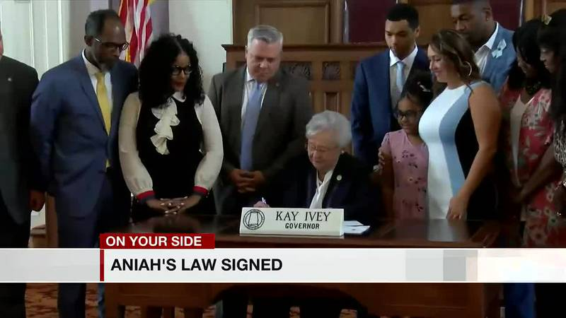 Aniah's Law signed