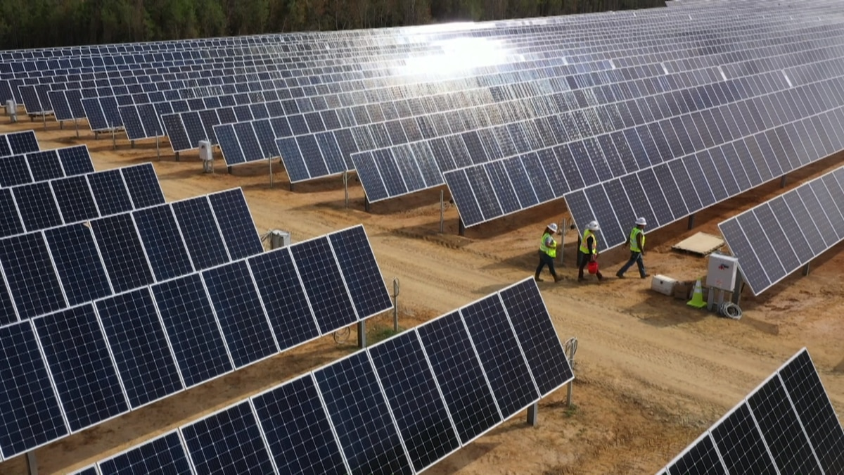 New Gulf Power Solar Energy Centers are to bring in hundreds of job opportunities across...