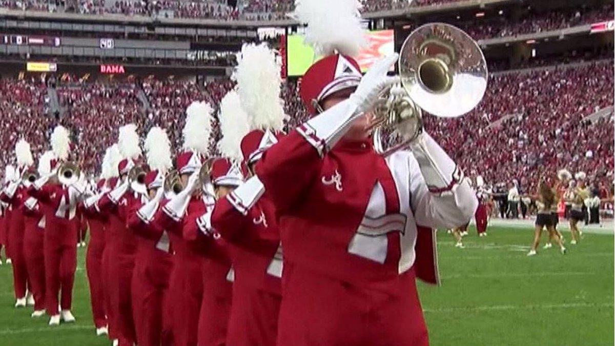 University of Alabama Million Dollar Band