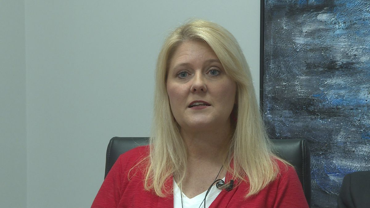 Teachers Laurie McWaters speaking to WTVY during a January 9, 2020 interview.