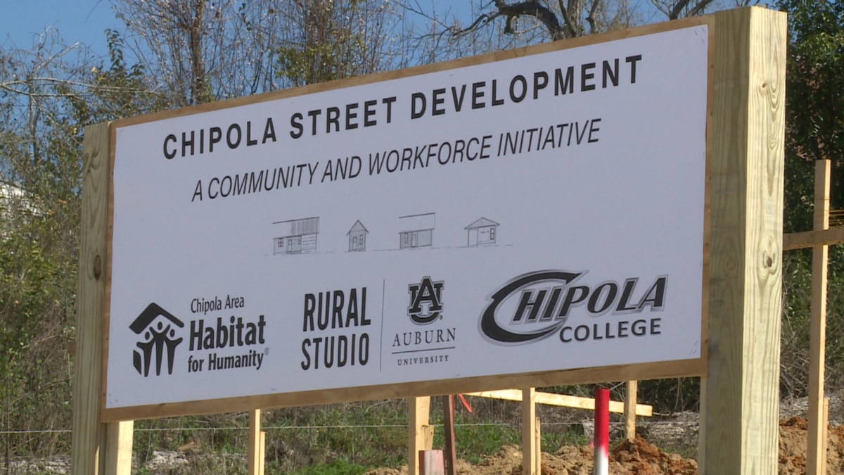 Thursday, officials broke ground on four new affordable homes in Marianna, as part of the...