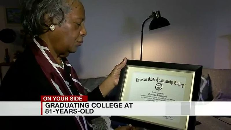 Age is just a number: 81-year-old graduates from Alabama A&M, inspires others