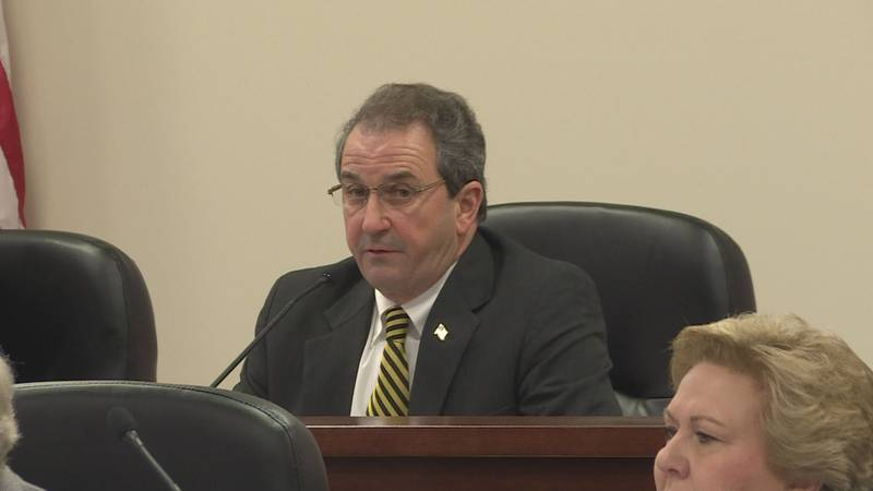 Rep. Steve Clouse (R-Ozark) presides over the House Ways and Means Committee in this March 9,...