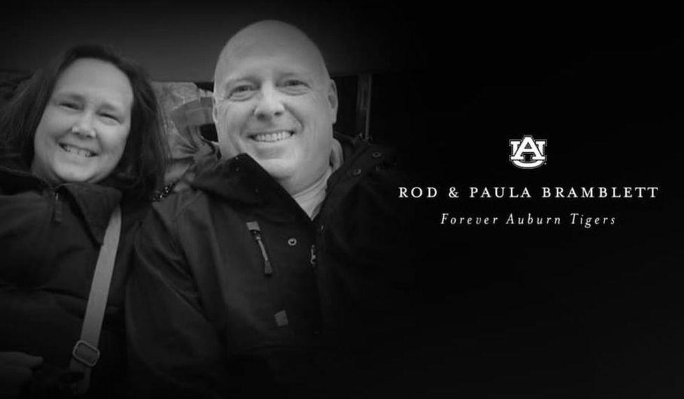 Rod and Paula Bramblett were killed in a two-vehicle crash in Auburn on May 25, 2019. (Source:...