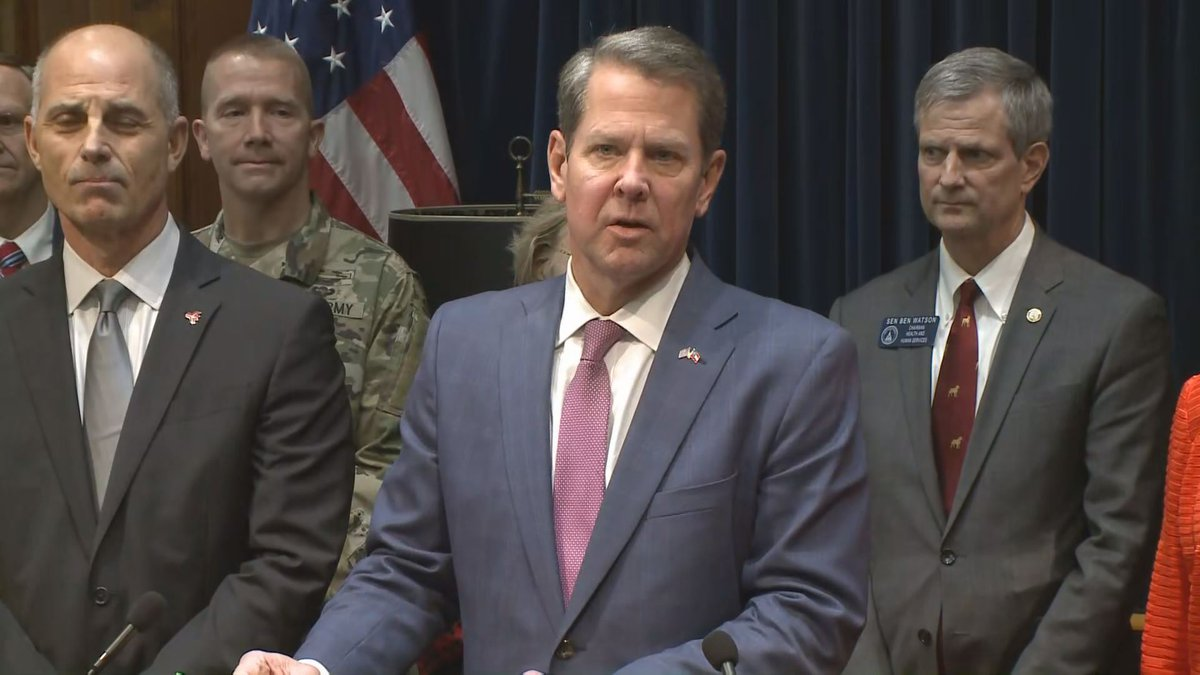 Governor Kemp declares State of Emergency