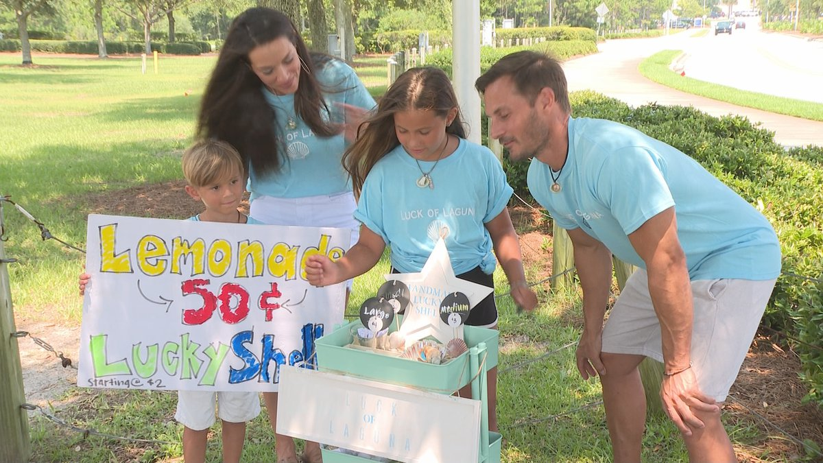 Two young entrepreneurs have created a business selling what they are calling lucky shells, and...