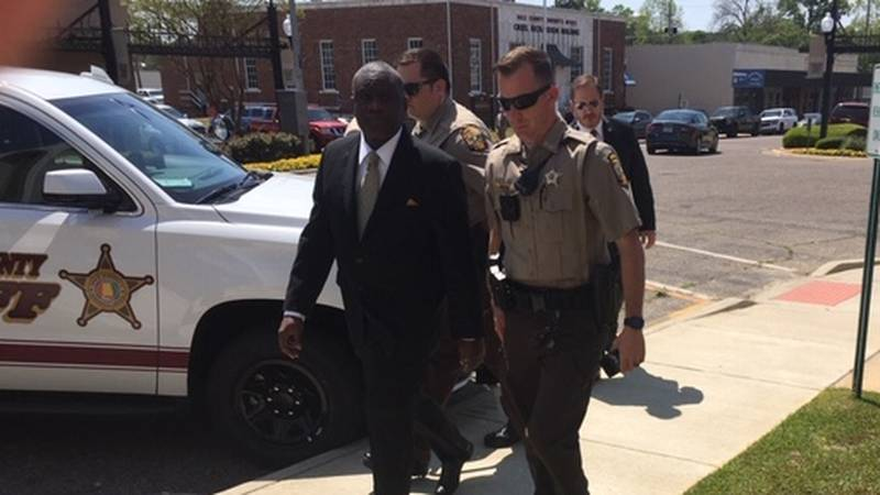 Coley McCraney as he's led into the Dale County courthouse. He's charged with the murders of...