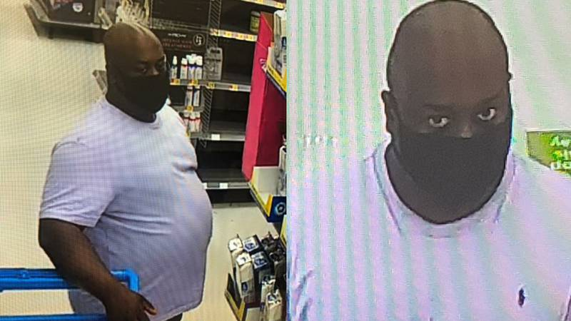 The Jackson County Sheriff's Office says it is looking for a man who inappropriately touched a...