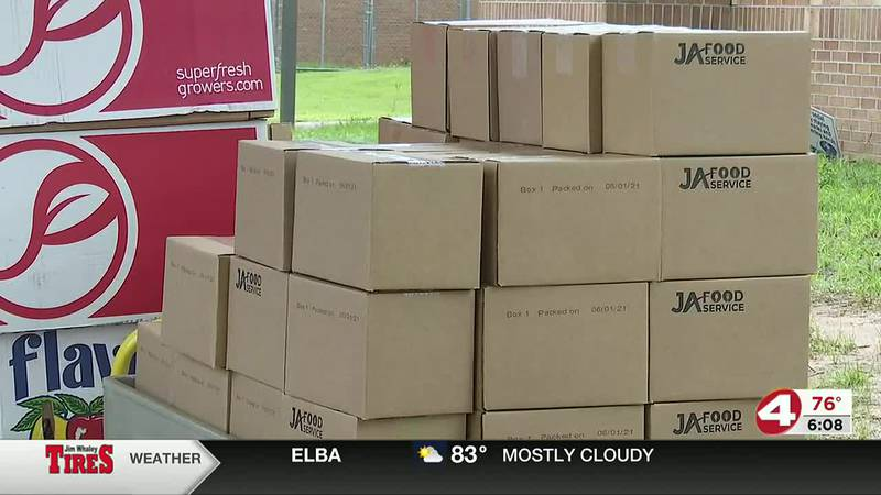 Geneva County working to feed children in the Wiregrass