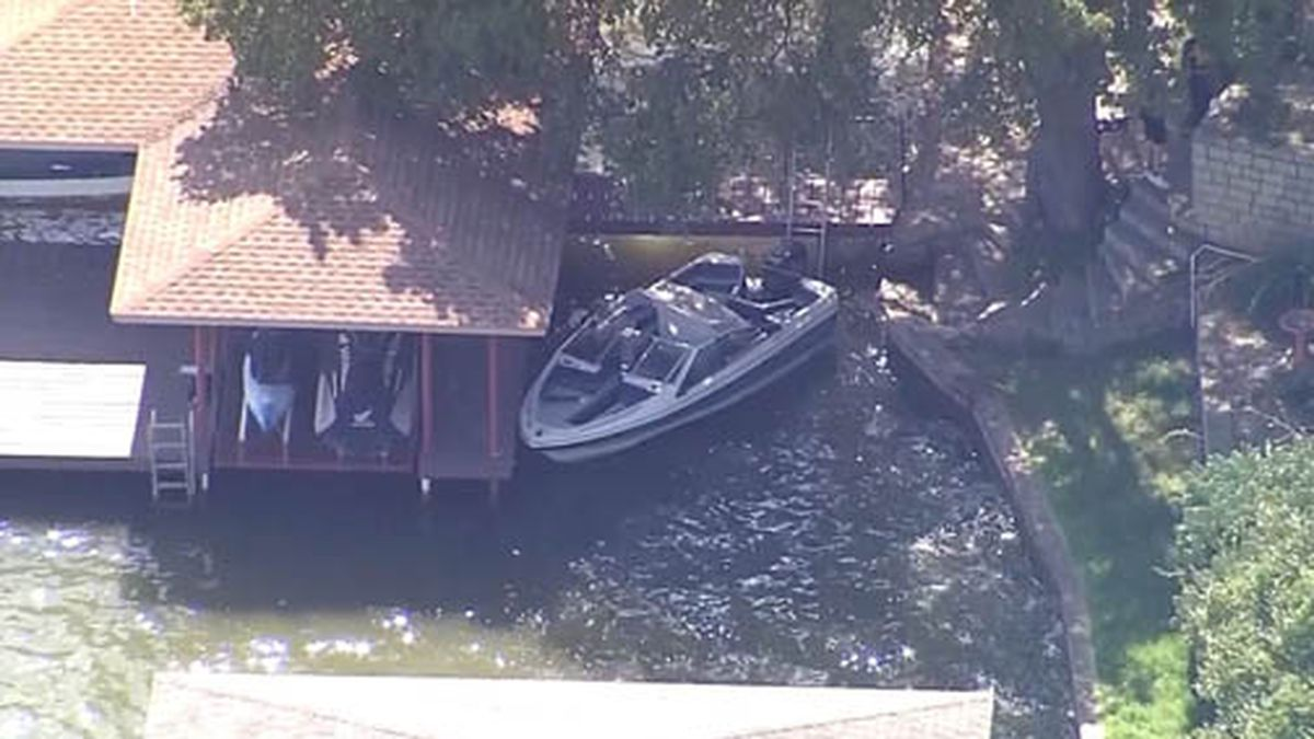 A 3-year-old girl was found alone and adrift in a boat in Texas. Her father's body was recovered nearby hours later. (Source: KTVT/CNN)