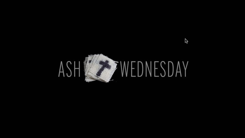 Ash Wednesday marks the beginning of Lent, the six-week period leading up to Easter.