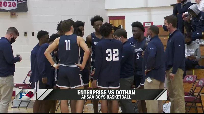 Enterprise boys defeat Dothan; Wolves win girls showdown
