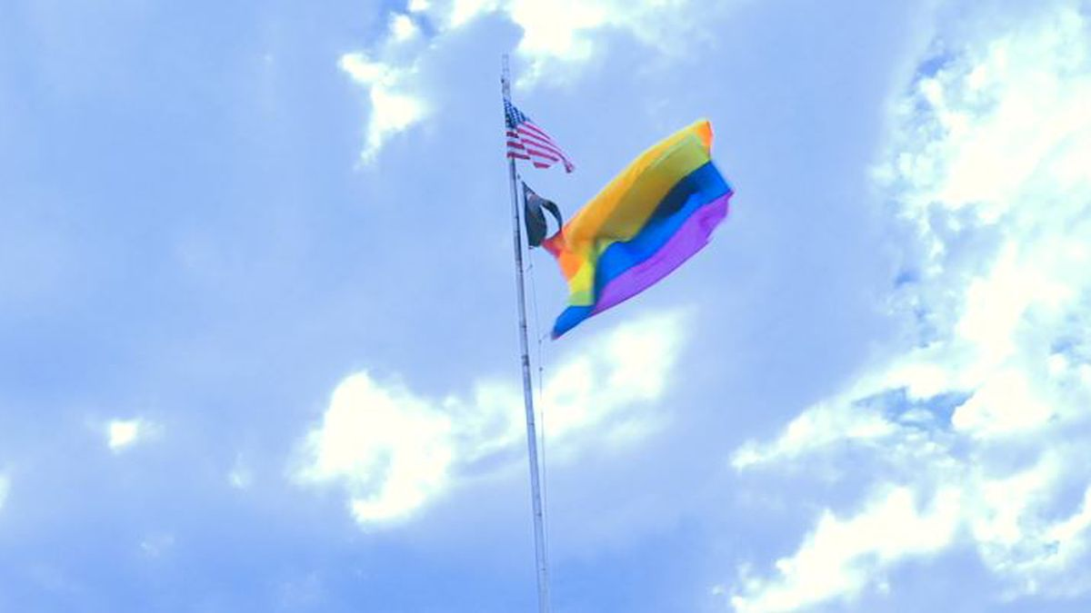 The rainbow flag was raised this past Wednesday at the request of Magic City Equality as part...