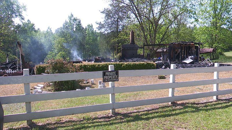Abbeville house fire