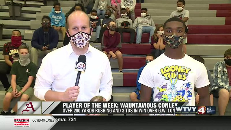 Player of the Week: Abbeville RB Wauntavious Conley