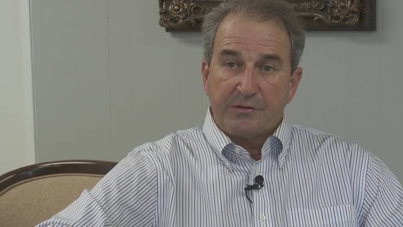 Rep. Steve Clouse of Ozark discusses prison issues with News 4 in July, 2021.