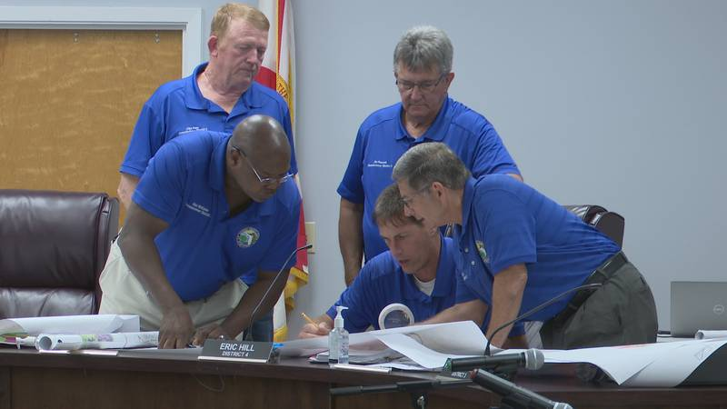 The Jackson County Board of County Commissioners met Tuesday afternoon to discuss redistricting...