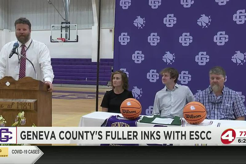 On the dotted line: Colby Fuller signs with Enterprise State