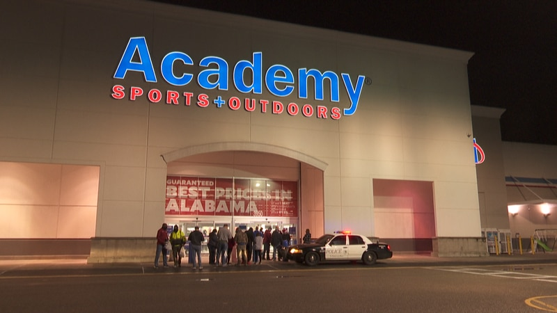 Academy Sports and Outdoors, Dothan, AL, shortly after the Alabama Crimson Tide defeated Ohio...