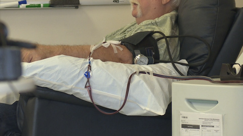 According to Lifesouth Community Blood Centers, blood donations are in an emergency stage