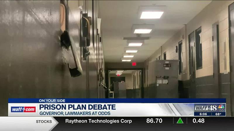 Prison plan debate