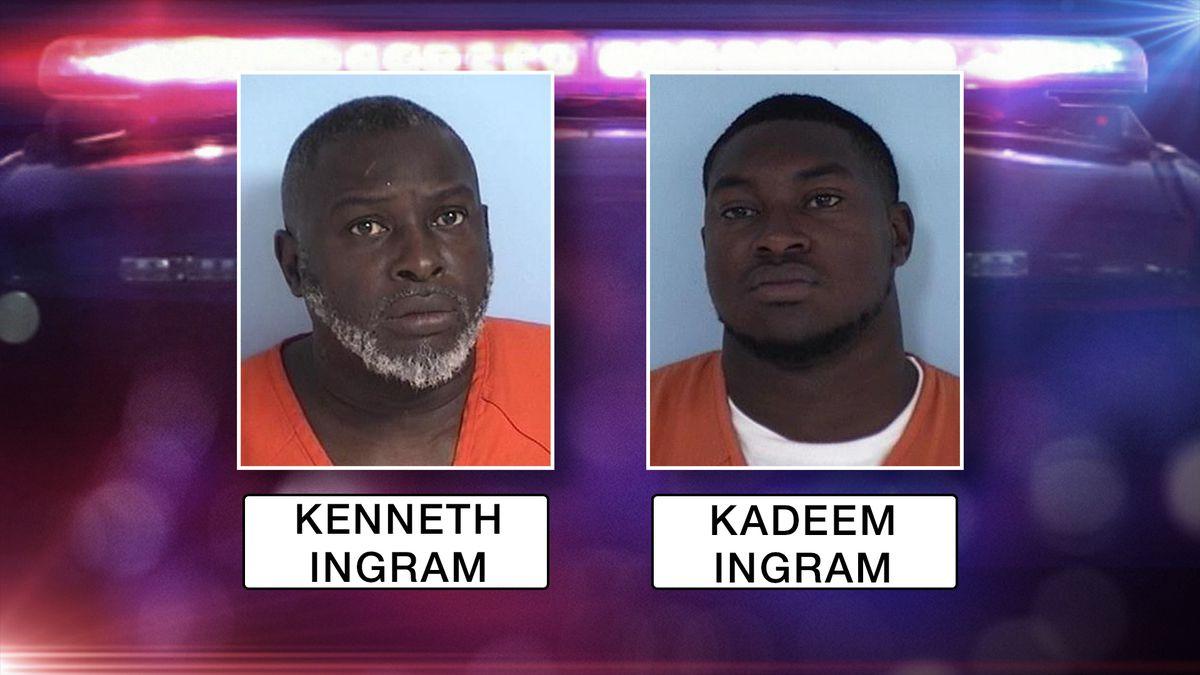 Kenneth Ingram and Kadeem Ingram (Source: Walton County Sheriff's Office)