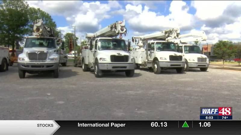 Utility crews prep for Ida