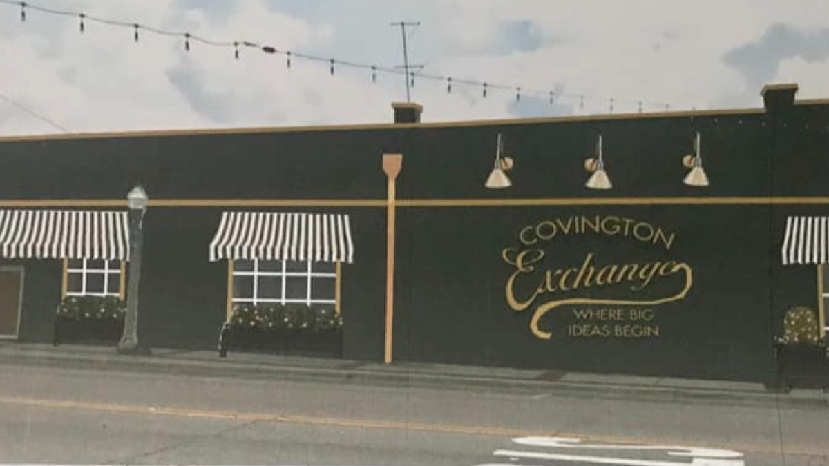 This is what the old Opp building will look like once the renovations are complete.