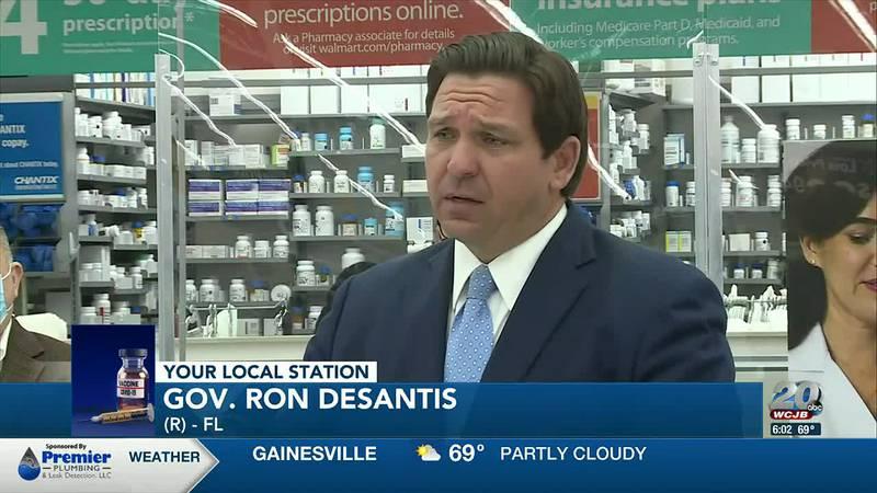 Governor DeSantis on vaccine distribution expansion